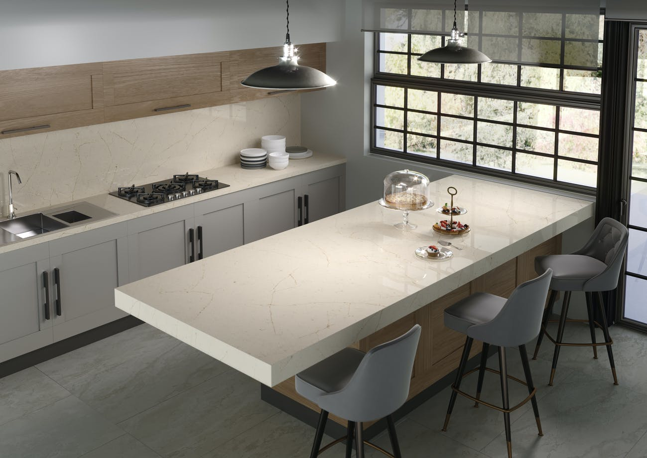 Silestone Kitchen HD - Eternal Marfil 3