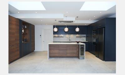 Earlsfield Midnight Blue Kitchen