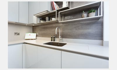 Handleless Schuller kitchen