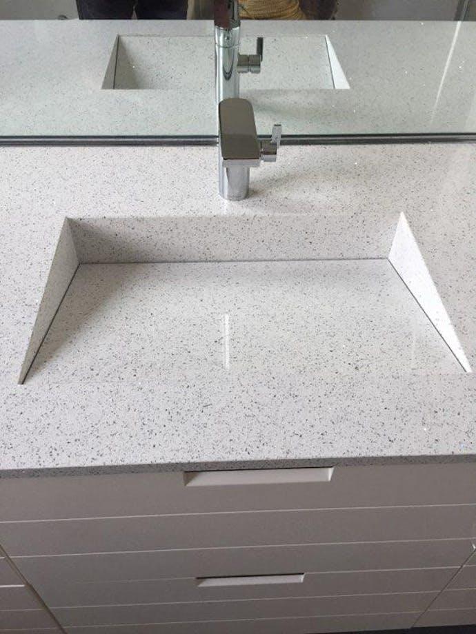 Silestone - Projet Sdb Modèle Armony Silestone Blanco ...