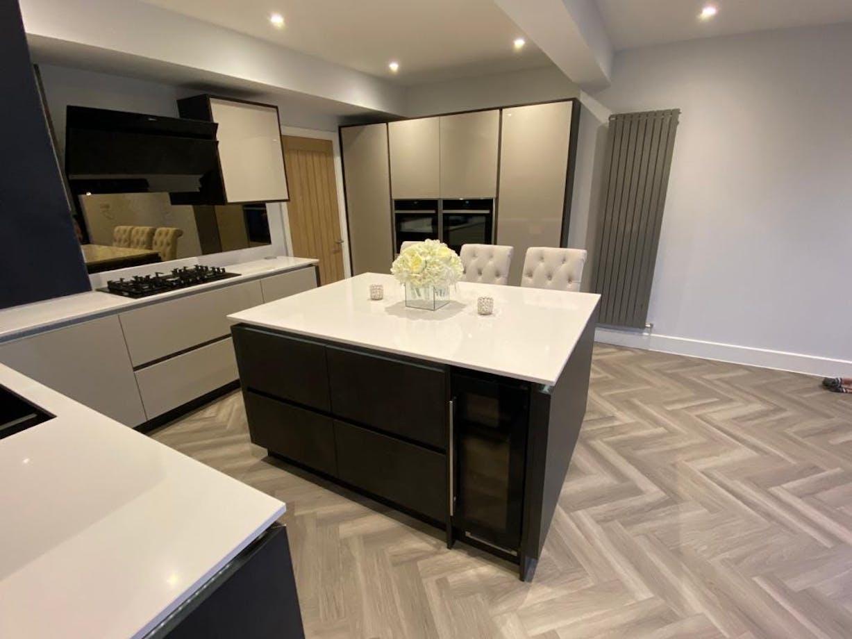 Freestone Open Plan Living Kitchen