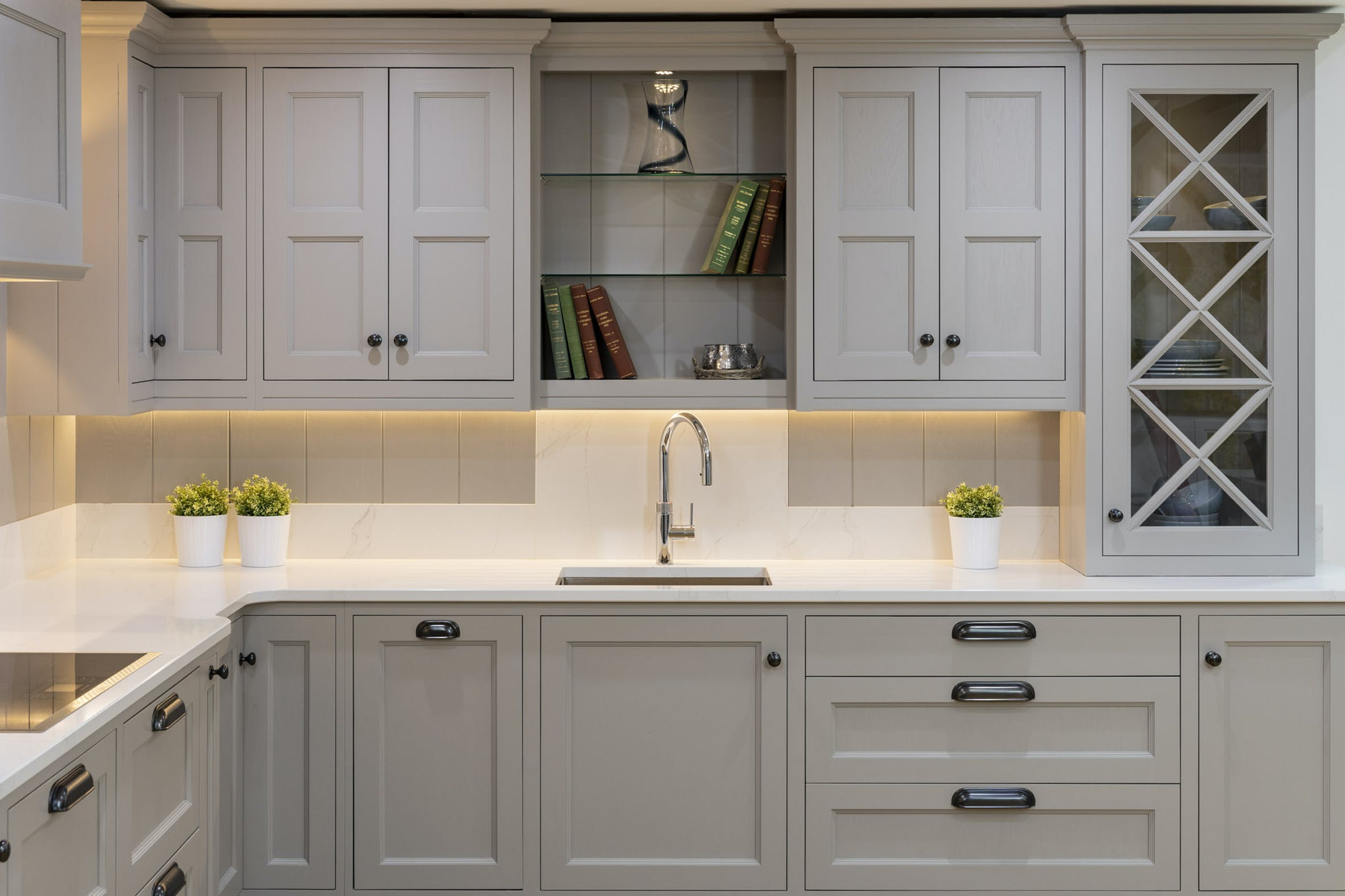 Sweeney Of Wexford Kitchen In Calacatta Gold Cosentino