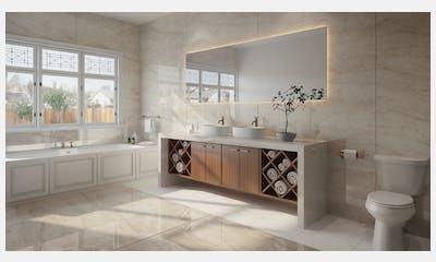 Arga Dekton bathroom