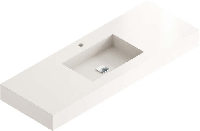 . Models of washbasin for the bathroom with Silestone by Cosentino
